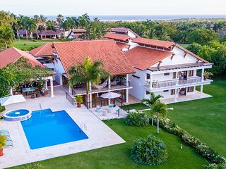 360° Golf View 6 Bedroom Villa in Casa de Campo
