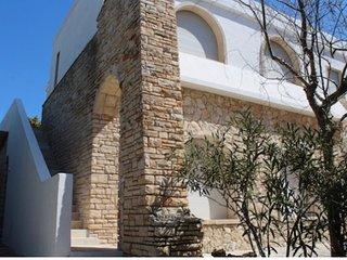 Villa Tabu quadrilocale in attico fronte mare top comfort clima vista 8/10 P