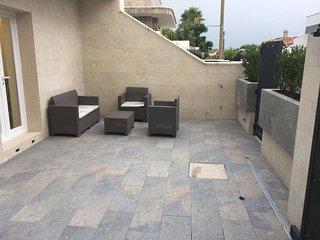 Villetta Luxury 50m dal mare top comfort area relax clima 8/9 posti sul mare