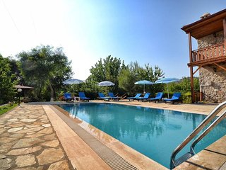 AKY8800-Fethiye Kayaköy 4 rooms with private pool
