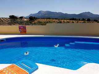 Spacious villa in Lorca with Parking, Internet, Washing machine, Pool