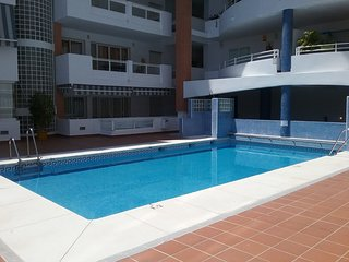 Spacious apartment a short walk away (338 m) from the 'Playa de Los Boliches' in