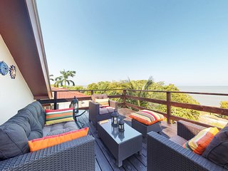 Caribbean Sea views from every window & private balcony-easy access to the sea