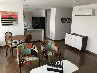 Cozy & quiet new apartment up north in Barranquilla
