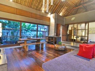 2BDR Garden View Villa in Central Ubud