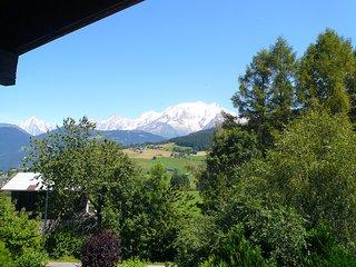 Appart confortable et sympa 6 pers, avec vue du Mont Blanc