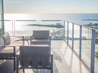 Sea and City View Terrace Apartment with private terrace - B502