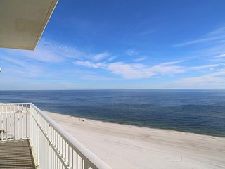 Shoalwater 1106 Gulf Front Luxury, Sparkling Water Views ~ Wrap-Around balcony,