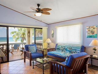 Villas Iguana A-8: Beachfront condo