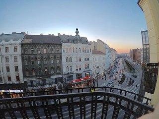 Dorina's apartment with balcony in the city center