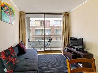 Comodo depto centrico c/ piscina y wifi - Comfortable apartment. w/ pool & wifi