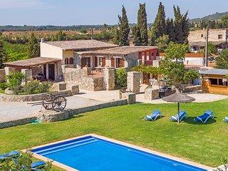 SON RAMON - Mallorcan Finca with Pvt. Pool and Bar