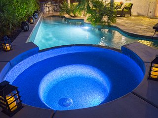 NEW! Luxury Retreat - Saltwater Pool, Game Room, BBQ, Family Fun!