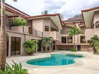Spacious Costa Rican condo with shared pool & beach club access - close to town