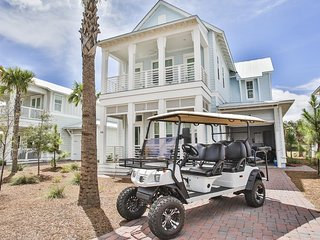 Prominence on 30A ❊ Seaglass ❊ Includes Private Golf Cart! SLEEPS 14
