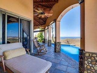 Long-term discounts: Oceanview villa w/ private pool, quiet location, near beach
