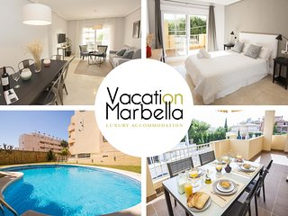 Spacious apartment in Marbella with Lift, Parking, Internet, Washing machine