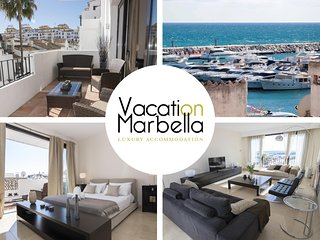 Spacious apartment a short walk away (191 m) from the 'Playa del Duque' in Marbe