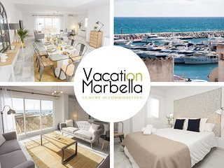 Spacious apartment a short walk away (265 m) from the 'Playa de Puerto Banus' in