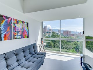 Moderno Apto. Familiar con vista a la ciudad- Modern Family Apt. with city view