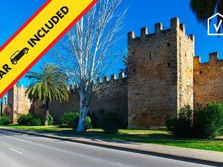 QUARTER:) Casa de pueblo para 6+1 en Alcudia. WiFi y AC.