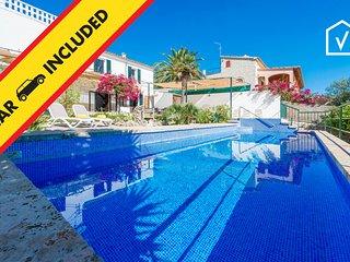 MESTAY :) Bonita villa en Búger para 6 personas. AC y WiFi gratis