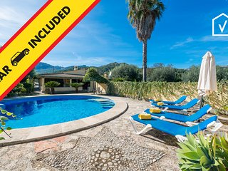 SORT LLARGA :) Villa con encanto en Pollensa para 6 personas. AC y WiFi gratis