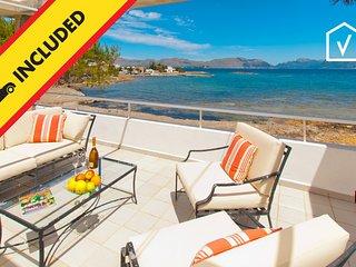 PERICAS 2 :) Bonito apartamento para 6 personas en Es Barcares, Alcudia y WiFi g