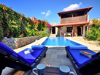 New Age Villa Bodoska 2 bedroom with private pool in Fethiye Kaya Village