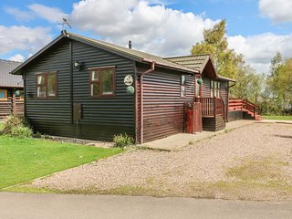 Lakeside lodge at Tattershall Lakes Country Park