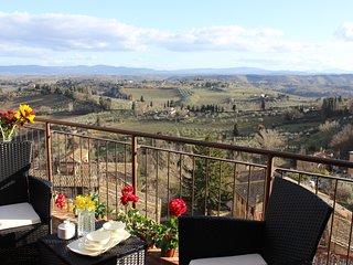 Camera Deluxe con terrazza e vista panoramica
