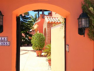 Holiday Villa in Marbella beachfront
