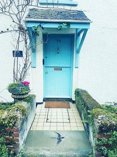 Front stable door.
