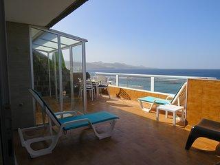 Apartamento para 2-3 personas en 1a linea de playa