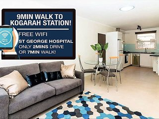 Kogarah Unit 20mins to CBD NEAR ST GEORGE HOSPITAL