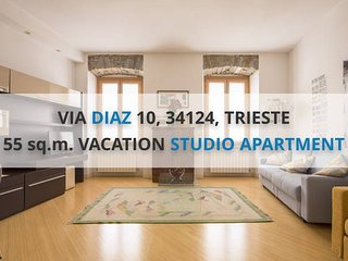 DIAZ: CENTRAL 55sqm, NEW, 450m from PIAZZA UNITA'