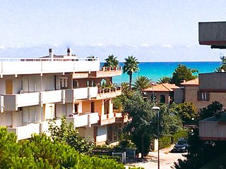 Appartamento con vista mare a 100 m dalla spiaggia e 200 m dall'isola pedonale
