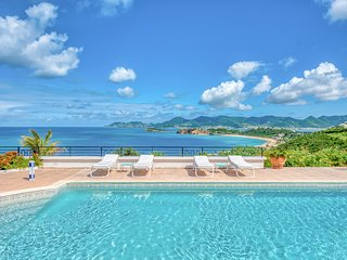 BEAULIEU... Stunning views from this gorgeous 3BR villa
