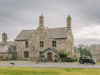 TALHENBONT HALL, stunning Grade II listed manor house, beautiful gardens