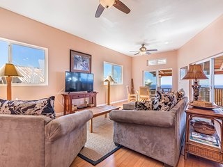 Ocean View home w/ multiple lanais, incredible sunset views & easy beach access!