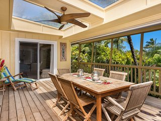 NEW LISTING! Luxury home w/ocean views, entertainment & easy walk to beach