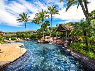 Nihiliani condo w/ W/D, shared pool & hot tub, WiFi.