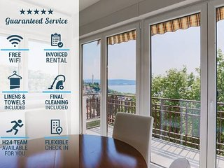 ♡ TriesteVillas SEA VIEW ❋A/C❋ New, parking, for 5
