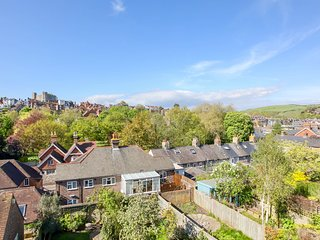 Townhouse with stunning views in the heart of the historic town of Lewes