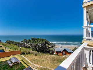 Ocean views and pure luxury await from this dog-friendly home!