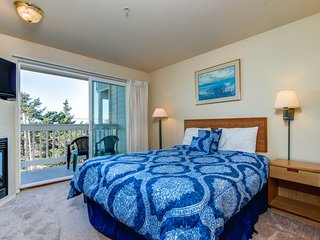 Lower-level oceanview studio - close to the beach, dogs ok!