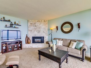 Renovated, family-friendly, oceanfront condo w/ views - steps to the beach!