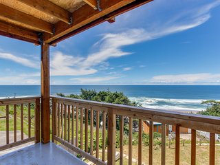 Huge renovated, dog-friendly condo w/ ocean views & beach access nearby!