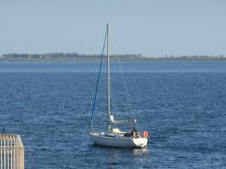 Marseillan 2 bed property with views over port and sailboats