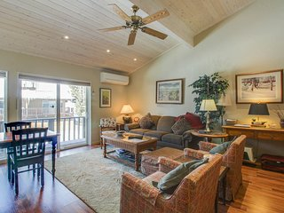 A shared pool and perfect location near downtown Ketchum!